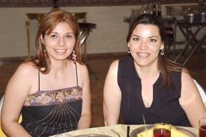 Gabriela Castillo y Mónica Bojórquez.