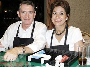 Florentino Martínez y Morena de Martínez.
