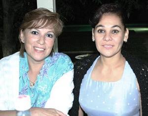 Leticia Torres y Claudia Hoyos.