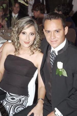 Patricia Verdeja y Aarón Macías.