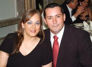 Blanca Flor y Eduardo Hernández.