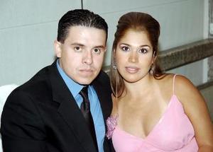 Alejandro Galván y Alejandra Riesco.