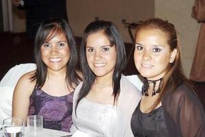 Pamela, Greta y Marlén Arratia Romero.