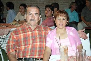 Fernando Soto y Bety de Soto.