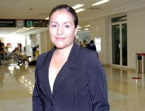 Martha Collazo llegó procedente de Zamora Michoacán.