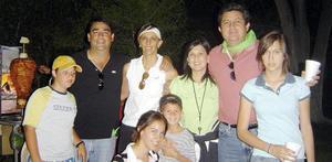 Familias Cepeda y Tumoine.