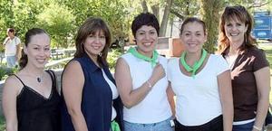 Jéssica, Jaqueline, Paty, Mayra y Lucía.