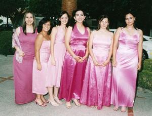 Angélica San Rafael, Claudia Cano, Sofía Colores, Naime Jaike, Xasni Pliego y Linda Ramírez.