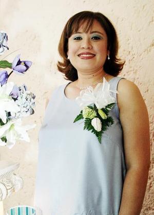 Ana Lilia Díaz de Ramírez disfrutó de una fiesta de canastilla