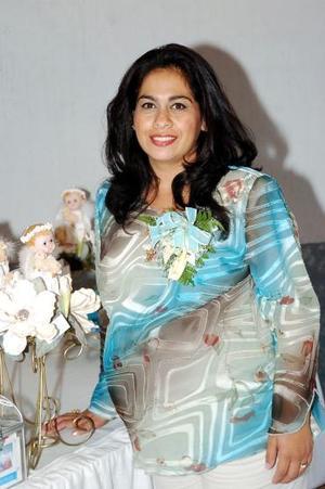 Rosario Hernández de Lavenant espera el nacimiento de su tercer bebé