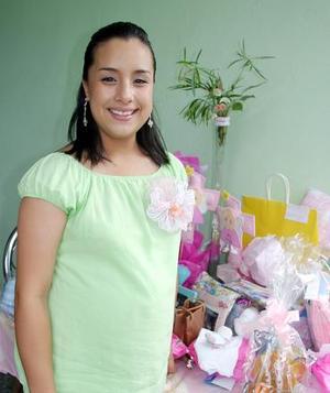 Sarahí Sofía Nava Salas, captada en su fiesta de canastilla.