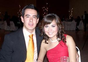 Arturo Zarzosa y Alejandra Cabrera.