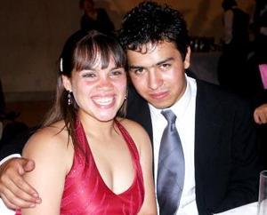Gaby Escudero y Polo Reyes