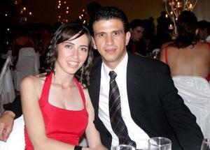 Marcela Oviedo y Enrique Reyes.
