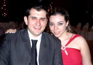 Pepe Hernández y Roxana Camacho
