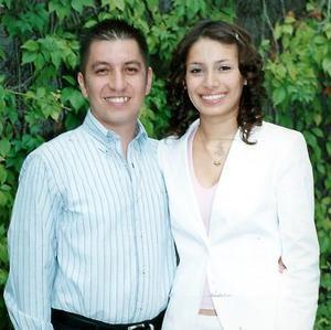 Sr. José Luis Barrera y Srita. Dulce Patricia Villarreal Velázquez efectuaron su presentación religiosa, el pasado 15 de julio.