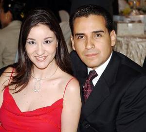 <b>31 de julio</b><p> Vero de Carreón y Pedro Carreón