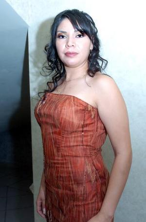 Claudia Fabiola Sánchez, en pasado festejo