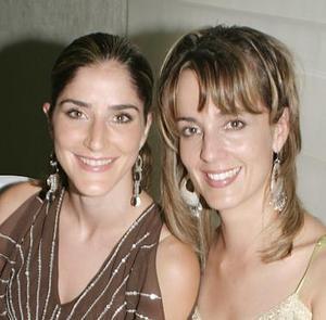 Gaby de Tricio y Ana Carmen de Sesma