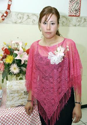Rocío Hinojosa Ruelas contraerá matrimonio con Luis Alberto Rodríguez el próximo 18 de agosto