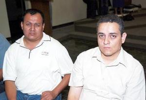 d José Borrego y Everaldo Navarra
