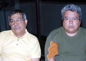 Juan Francisco Rodríguez y Guillermo López.