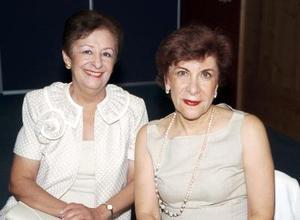 Alicia de Fernández y Eva María de García