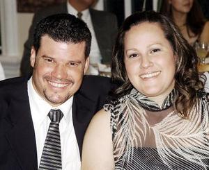 Carlos Cepeda y Arendana Flores de Cepeda.