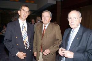 Darío Jiménez, Manuel Luévanos y Jaime Lomelí.