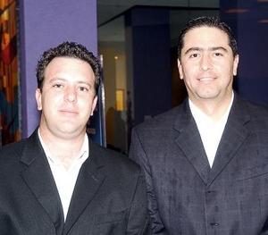 Mauricio Obeso y Javier Iriarte.