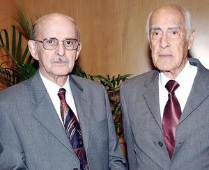 Óscar Muller y Germán González.