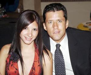 Abril García Ordaz y Daniel Camacho Mirazo.