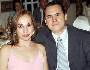 Lilia Julieta de Urby y Humberto Urby.