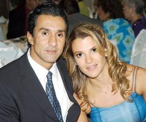 Ricardo y Gabriela Felgueres.
