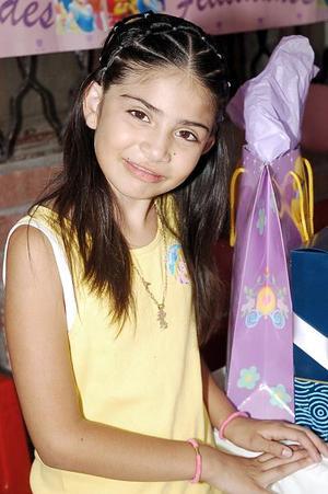 Con una bonita fiesta infantil, Magaly Isabella Pérez Navarro celebró su octavo cumpleaños.