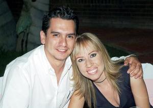 Iván Barrera y Alina Amezcua.