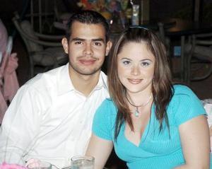 Jorge Zamaniego Mota y Brenda Vara Palacios.