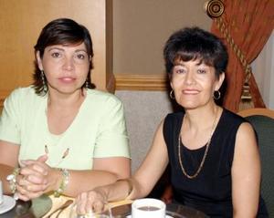 Norma y Betty de García de Alba.