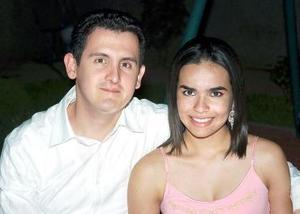 <b>05 de agosto 2005</b><p> Marco Hernández y Ale Villarreal.