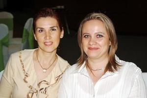 Edna García Mora y Pily Jiménez.