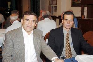 Heriberto Méndez Vigatá y Luis de la O.