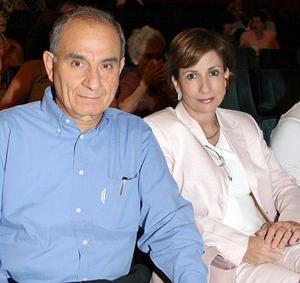 Fernando y Montserrat Murra.
