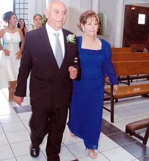Rita Yáñez Aróstegui y José González de la Rosa.