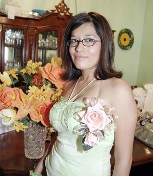 Tania Moreno Ramírez, captada en una de sus últimas despedidas de soltera.