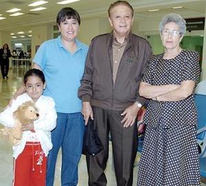 Carolina Ruiz, Rafael y Carolina Suárez y Carolina Martínez viajaron a Chiapas.