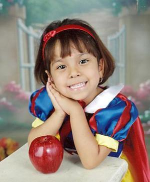 Guadalupe Monserrat Ayala Iglesias celebró su tercer cumpleaños recientemente.