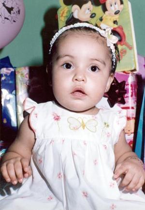 Paulina Riveroll Nájera cumplió un año de vida y su mamá, Cecilia Riveroll, le organizó una bonita fiesta infantil.