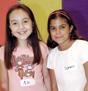 Tamara Chamut Torre y Alejandra Arriola.