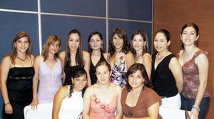Marcela Mancha, Ale Pérez, Karla Belmonte, Dora Zordo, Ana Belkotosky, Maru Gardea, Ale Flores, Brenda Martínez, Tamara Rodríguez y Lupita Castañeda.
