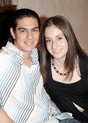 José Ángel Pérez Berrueto y Silvia Almendra González Oviedo.